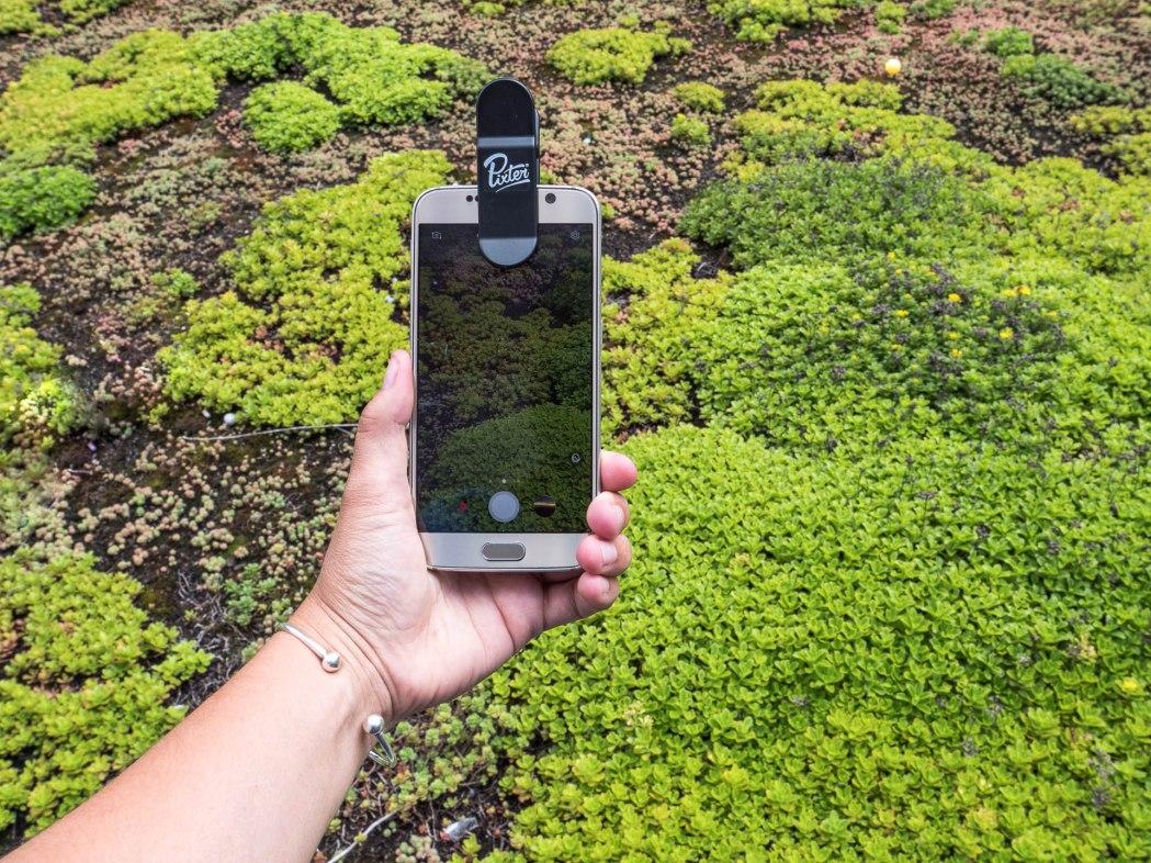 Pixter objectifs sur smartphone