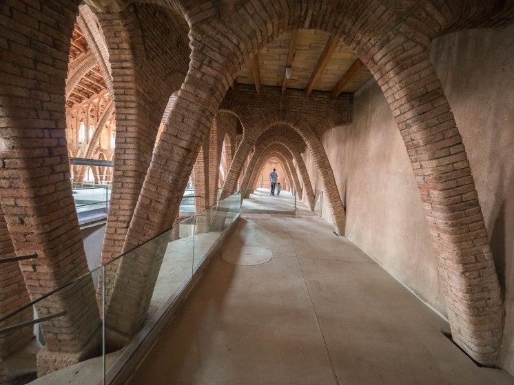 cathédrale du vin de Pinell de brai en catalogne - terres de l'Ebre
