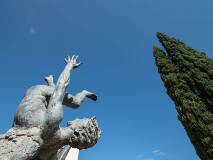Jardin de sculptures à Tortosa - Catalogne - Terres de l'Ebre