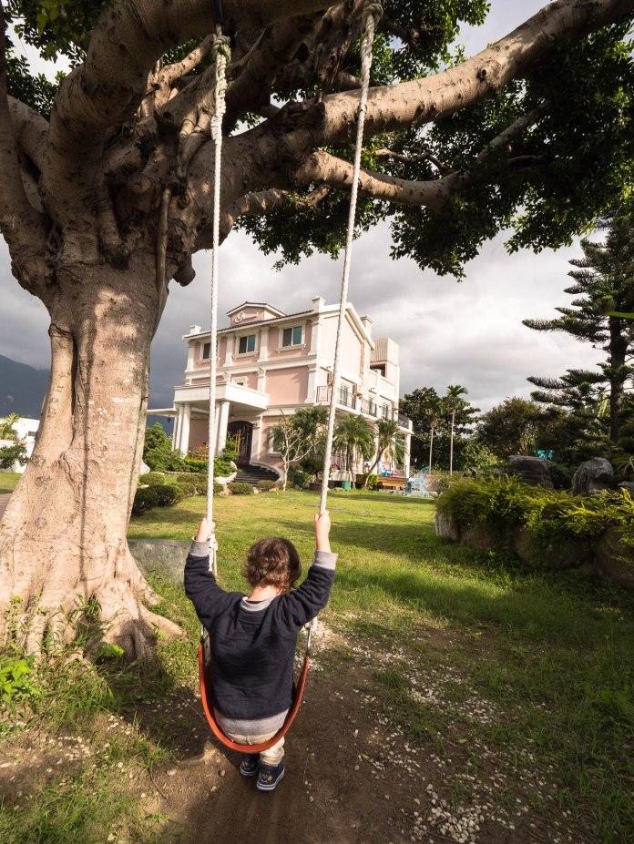 Hôtel Glenwood Hualien jardin