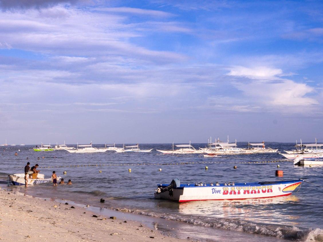 Panglao alona bateau