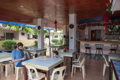 Panglao hotel petit dejeuner