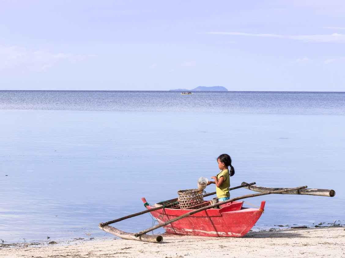 Siquijor oursin fille
