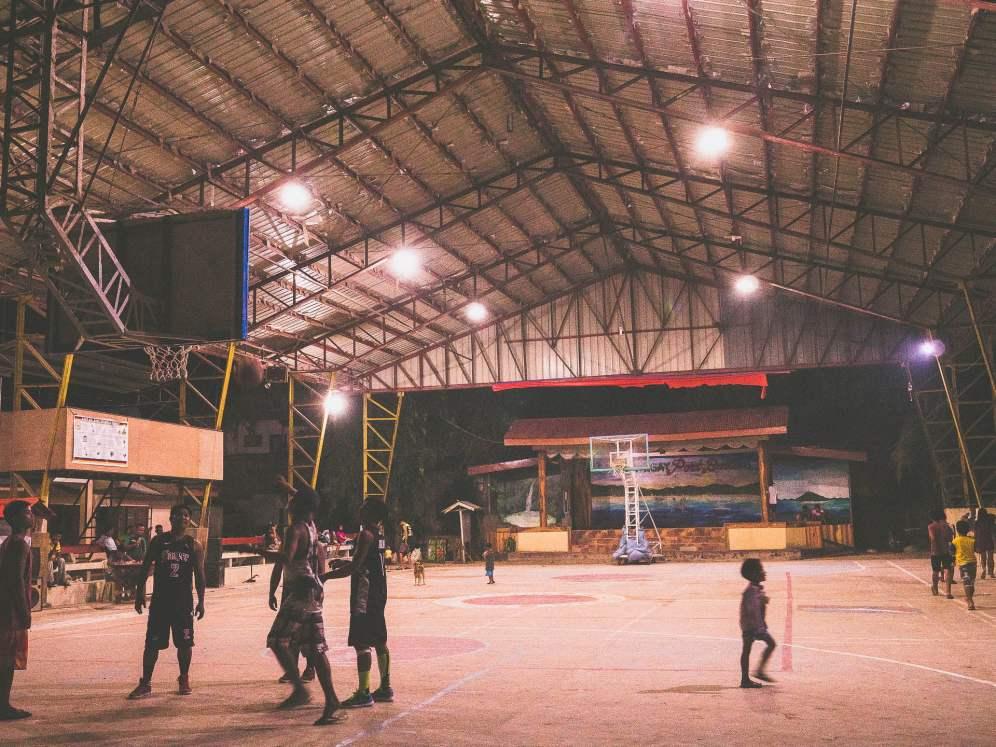 Port Barton fête basket