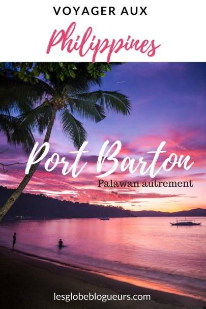 port barton à Palawan aux philippines