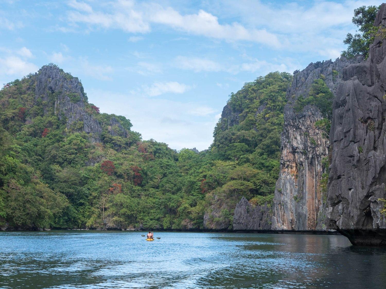 El nido big lagoon kayak