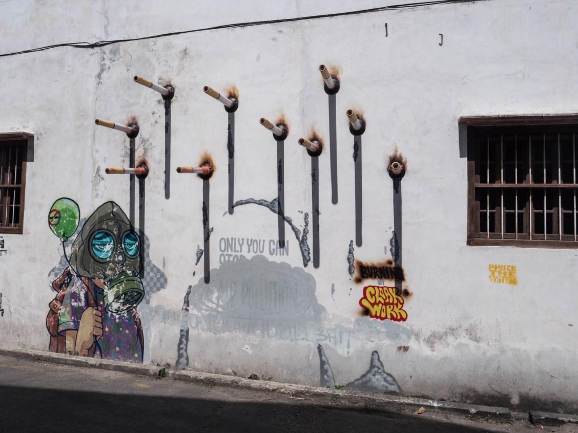 georgetown street art masque