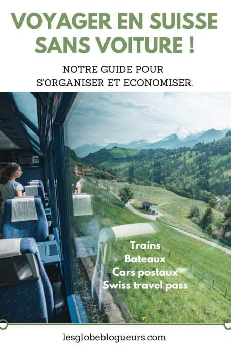 Voyager sans voiture en Suisse : Notre guide pratique pour utiliser trains, bateaux et cars postaux en économisant grâce au swiss travel pass
