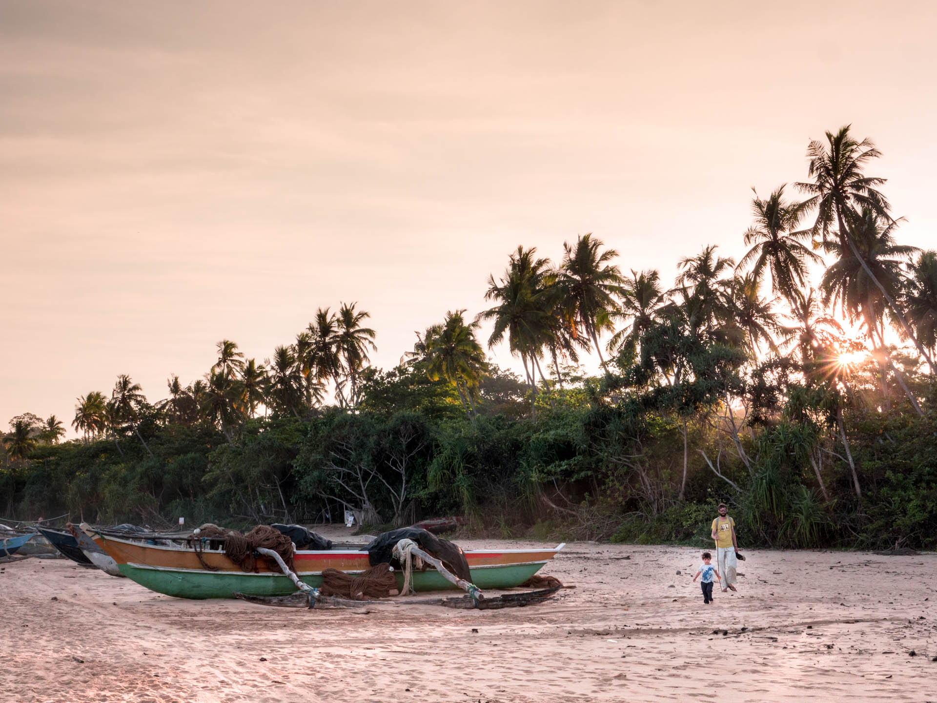 Talalla plage soleil