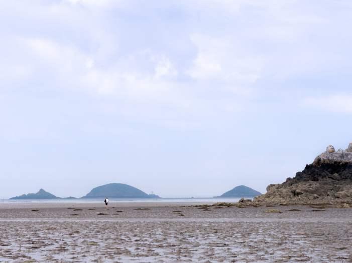 Kerarzic marée basse