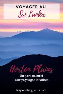 Guide pratique horton plains
