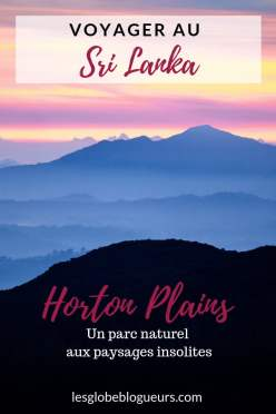 Guide pratique horton plains
