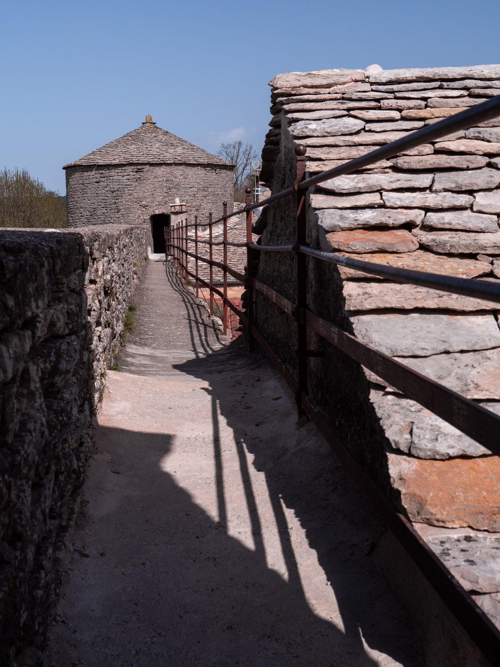 La couvertoirade Aveyron France