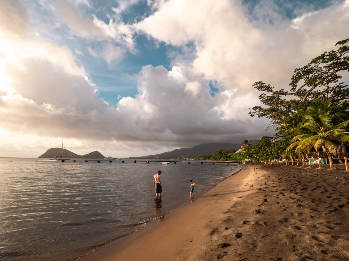 picard beach - Portsmouth - dominica