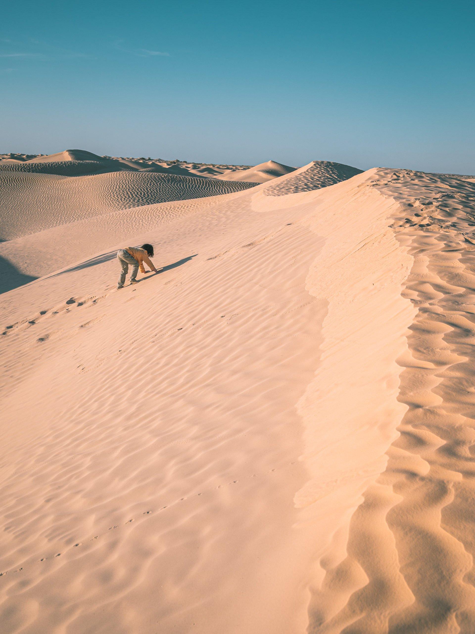 excursion désert tunisie