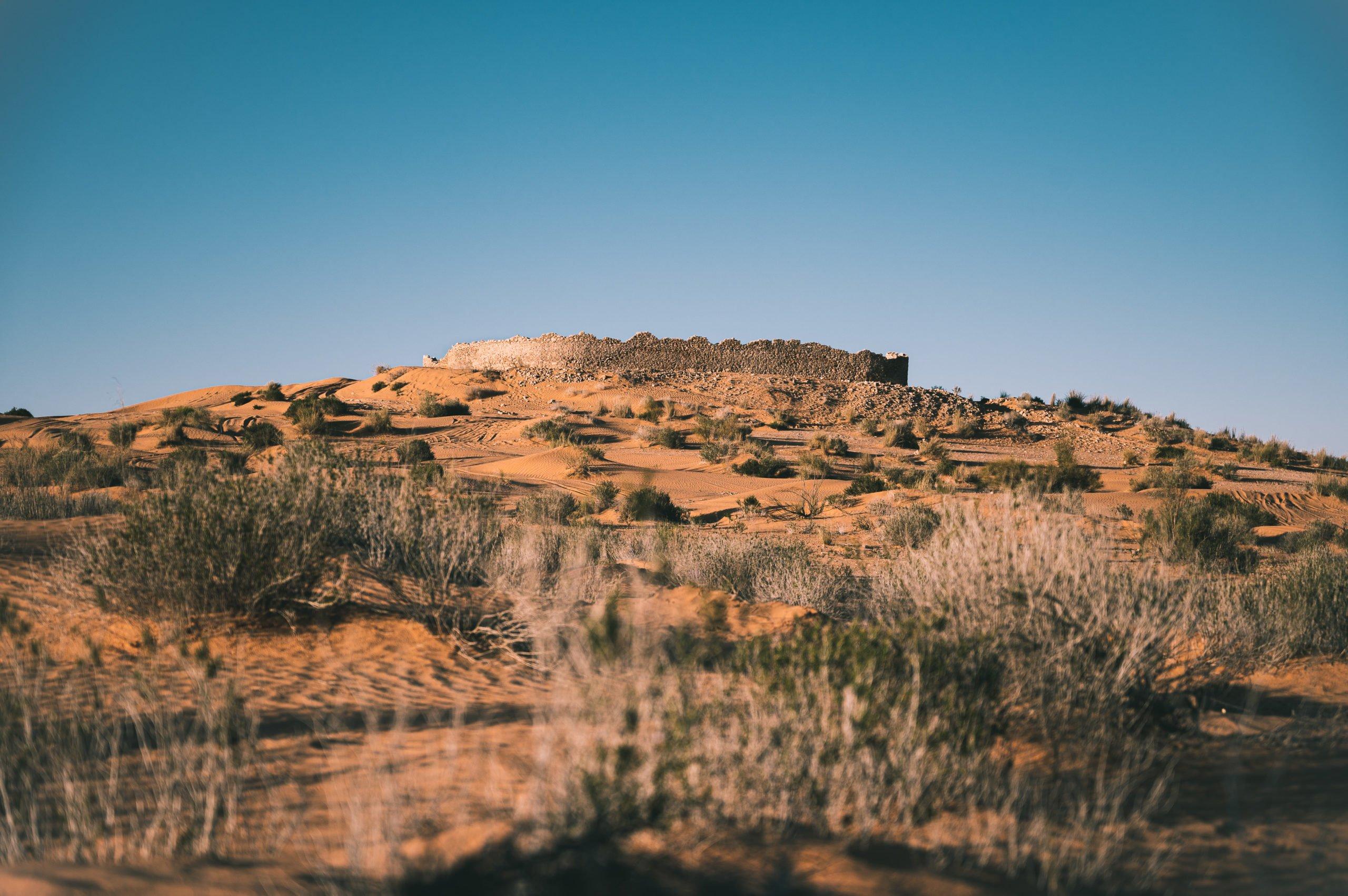 ksar ghilane tunisie fort romain