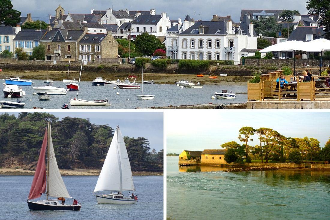 Visiter le Morbihan, Larmor baden