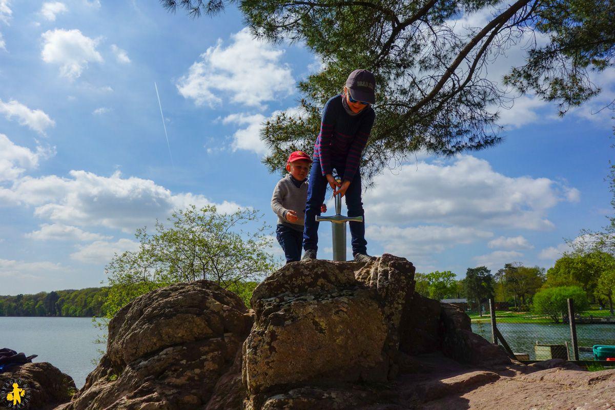 Lac de trémelin activité famille enfant Brocéliande 2