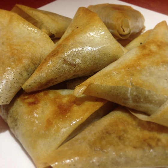 Les Samoussas à la viande hachée, épices du Maroc