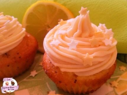 Cupcake Citron Pavot 1 XL