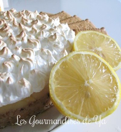 Tarte citron meringuée LGY