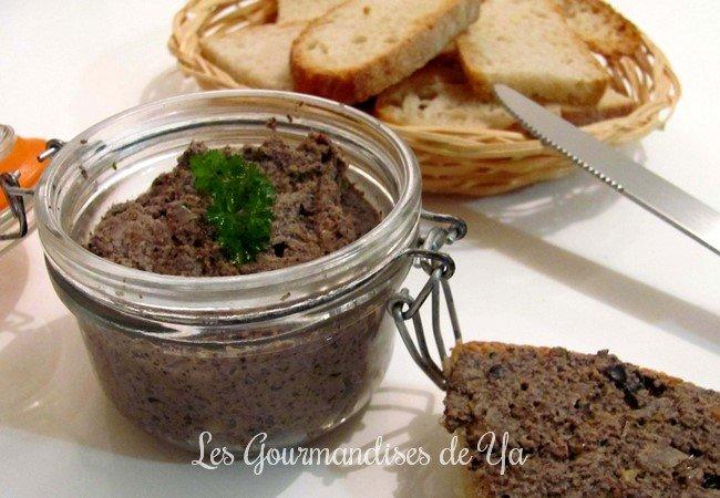 Pâté de champignons, olives et noisettes LGY
