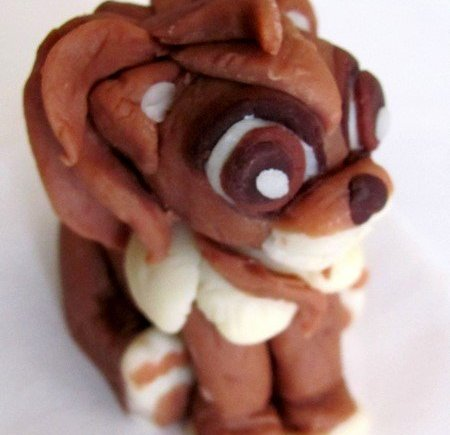 Pâte à chocolat - Figurine lion 01 LGY