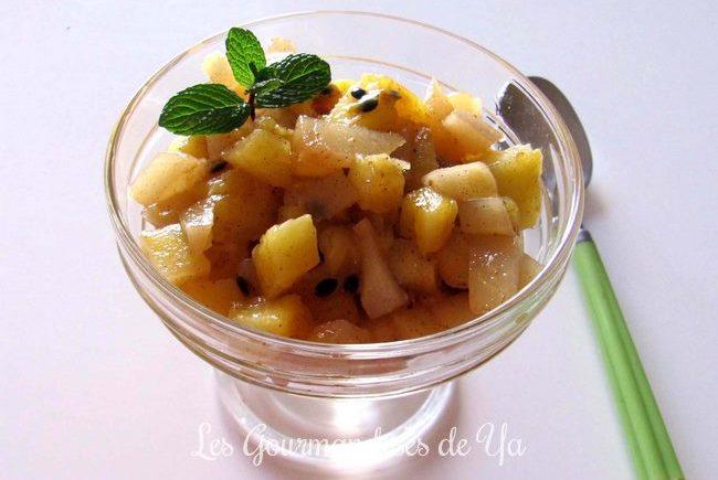 Salade légère de fruits d'hiver LGY