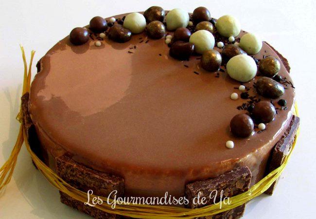 Entremets 3 chocolats LGY