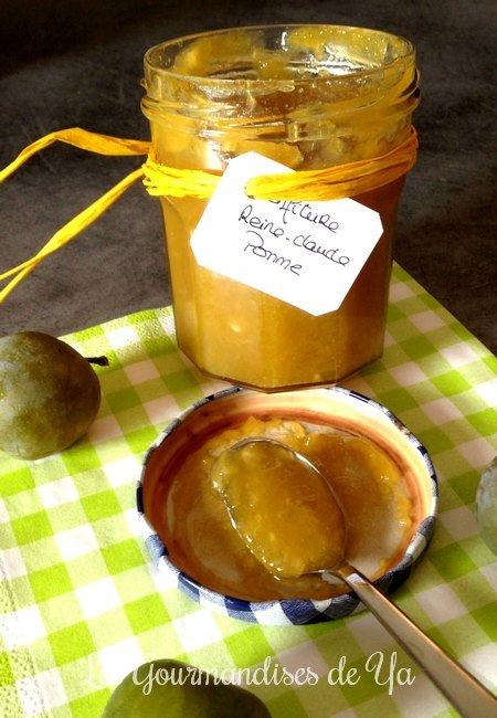Confiture Reine-Claude et Pomme LGY