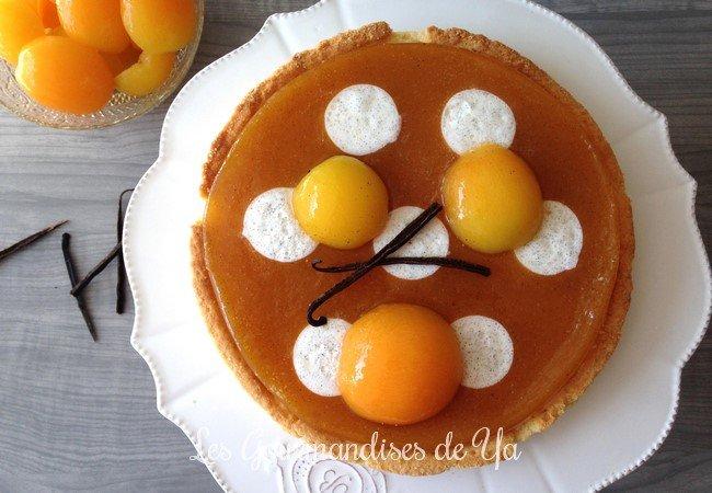 Tarte abricot, vanille et whisky LGY