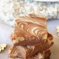 Cuisimiam : Fudge aux deux chocolats et noix