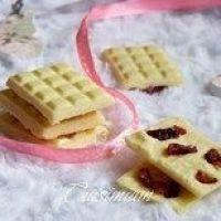 Cuisimiam : Minis chocolats blanc, Coco & Cranberries