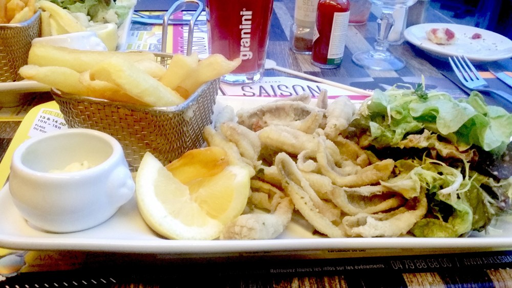 Friture de perchots