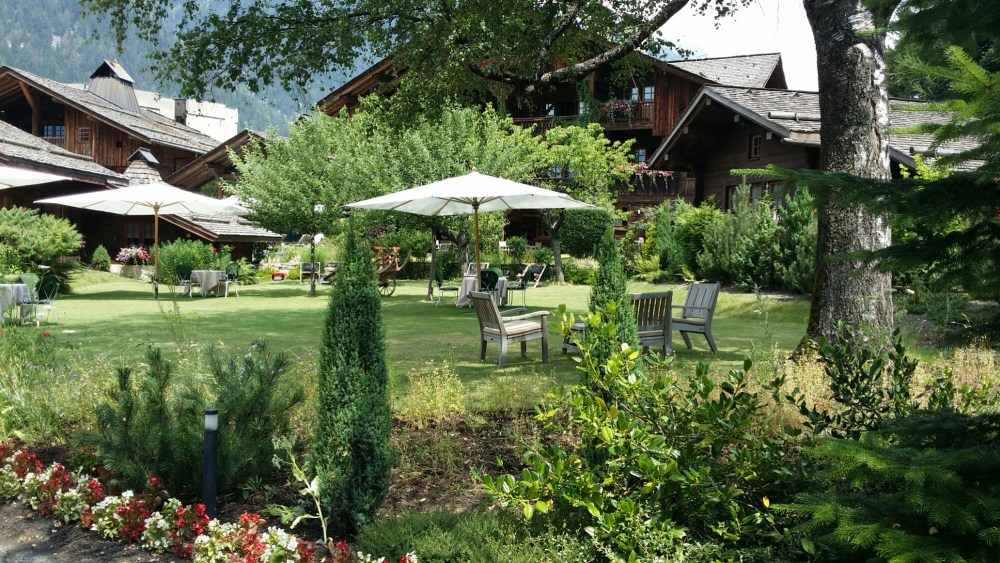 Le jardin du Hameau Albert 1er.