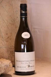 Côtes d'Auxerre blanc 2001. Domaine Bersan.