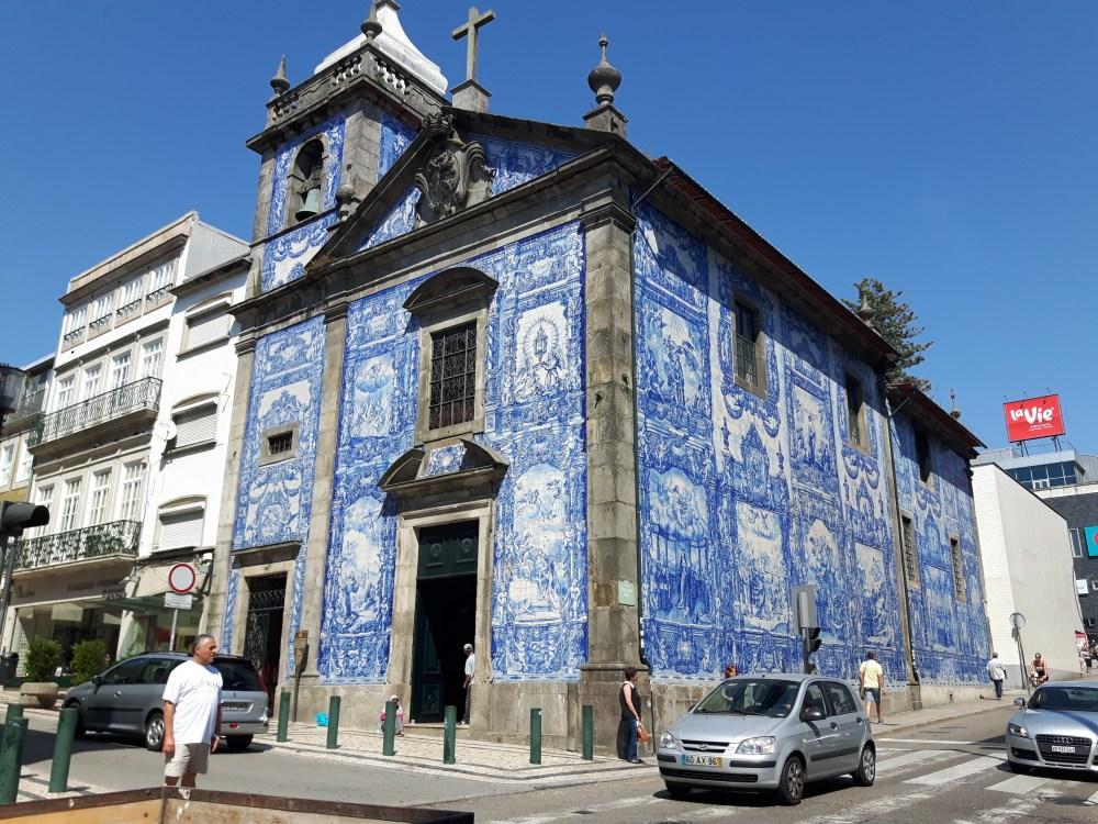 La Capela das Almas...et ses azulejos.