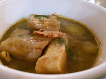 Cocotte...la soupe de poissons de roche...