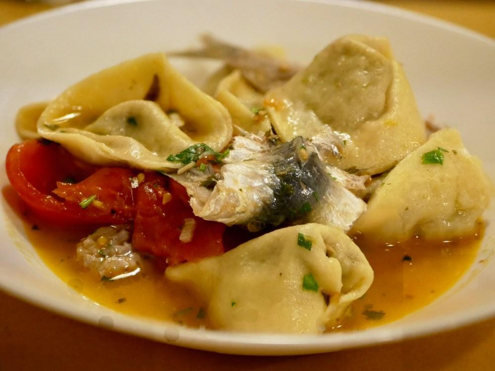 Raviolis aux anchois [simple et frais].