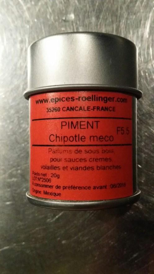 Piment Chipolte meco
