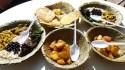 Assortiment de plats végétariens (samai baji)