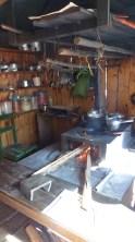La cuisine au four à bois