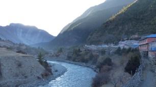Le village de Lower Pisang au réveil...