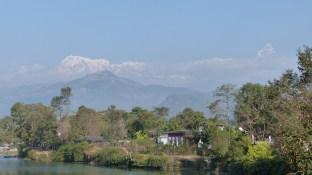 Mercredi, la vue s'est dégagée. A gauche, l'Annapurna I (
