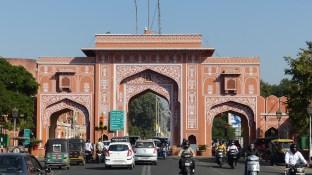 Une des portes d'accès à la ville rose
