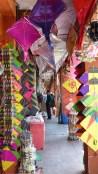 Boutique de cerfs-volants colorés