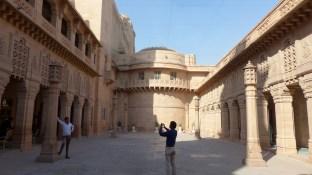 La touche indienne: pose photo!