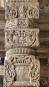 Les jolies sculptures sont très bien conservées
