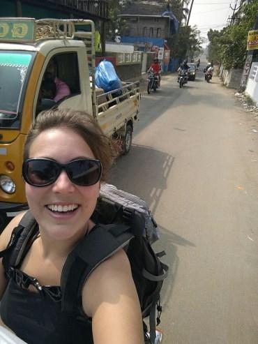 Trop facile la moto en Inde!