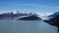 La vue sur le glacier Grey est magnifique